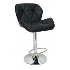 Барний стілець зі спинкою Bonro B-087 чорний