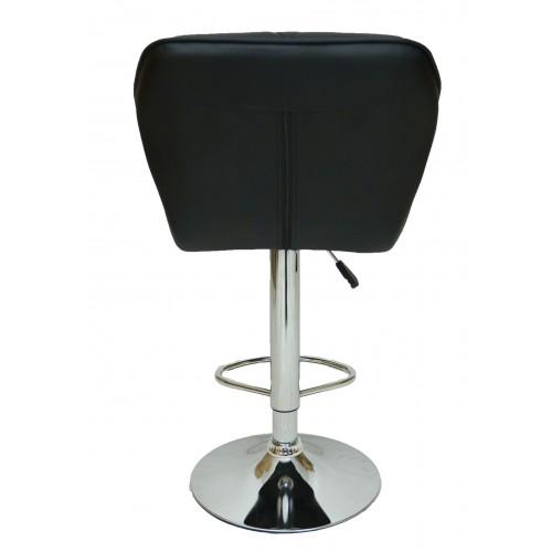 Барний стілець хокер Bonro B-868M чорний
