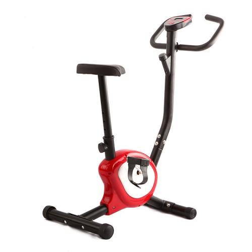 Велотренажер механічний Atleto QN-B201 червоний