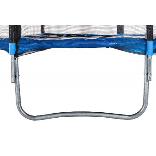 Батут Atleto з зовнішньої сіткою, 183 см синій 20000600