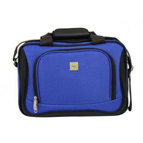 Комплект чемодан + сумка Bonro Best середній синій