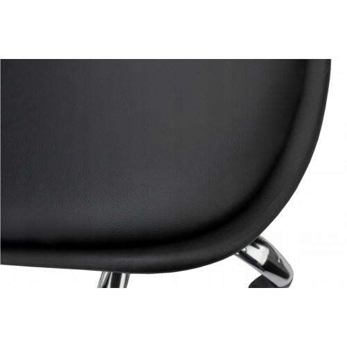 Крісло Bonro B- 487 на колесах чорне