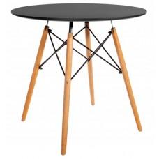 Стіл обідній круглий Bonro В-957-800 Чорний