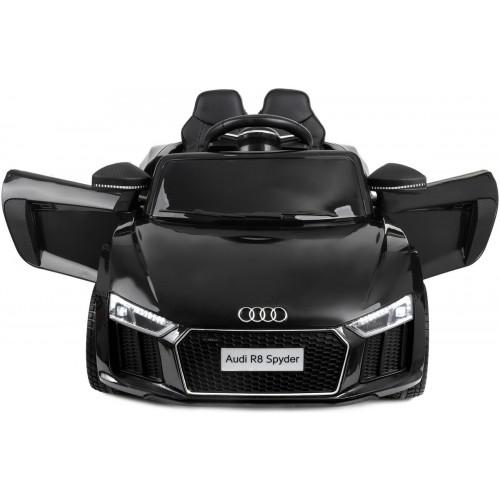 Дитячий електромобіль AUDI HL-1818 чорний (колеса EVA) (ліцензійний)