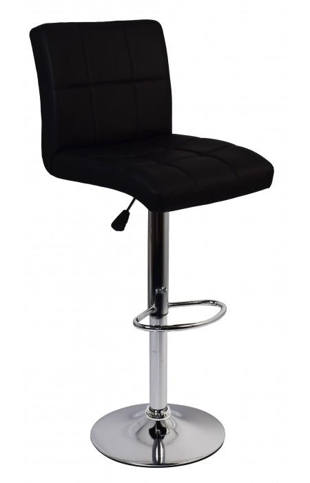 Барный стул со спинкой Bonro BC-0106 черный