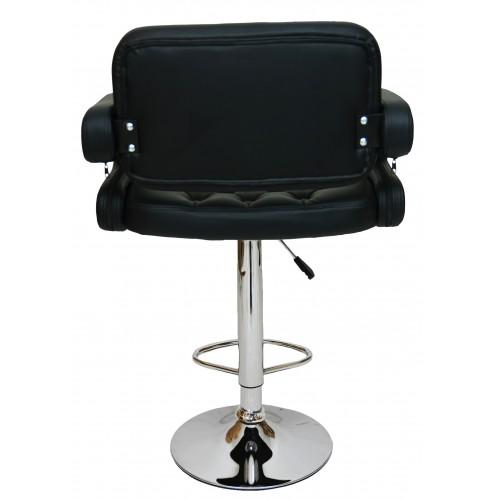 Барний стілець хокер Bonro B-823A чорний