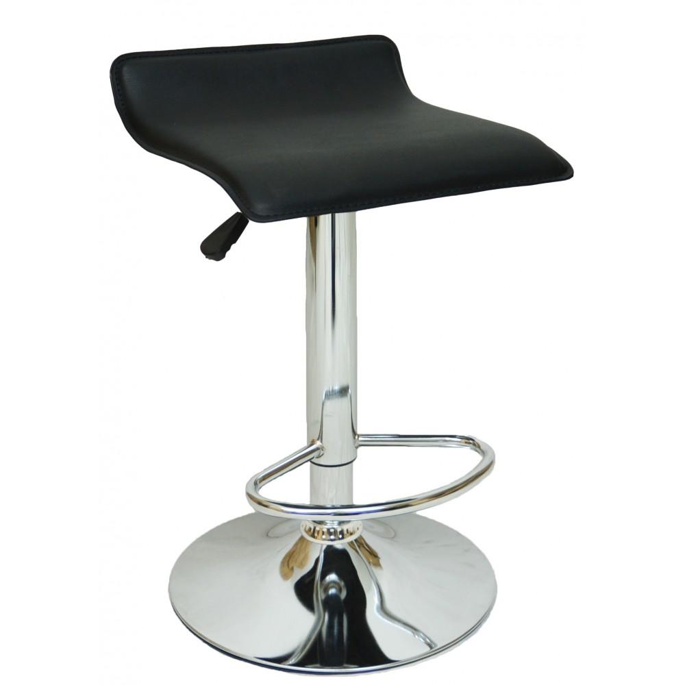 Барний стілець хокер Bonro B-688 чорний