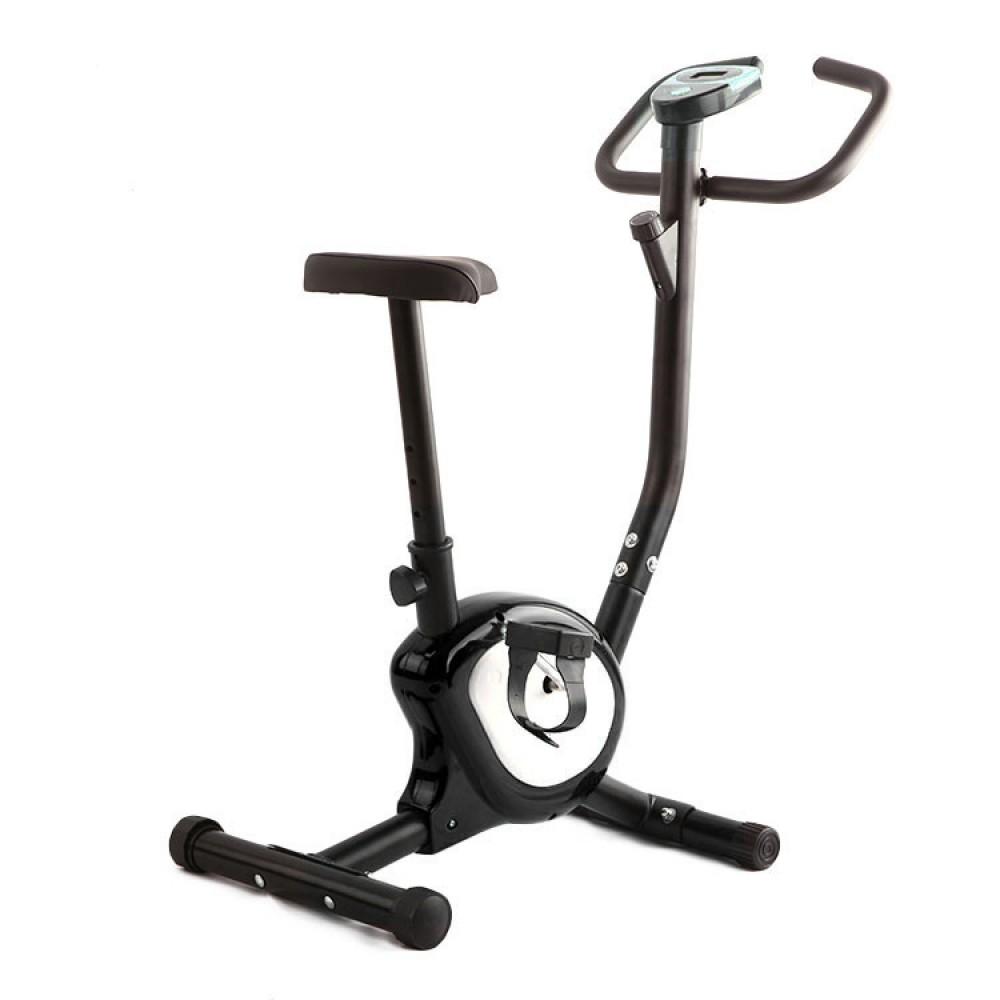 Велотренажер механічний Atleto QN-B201 чорний
