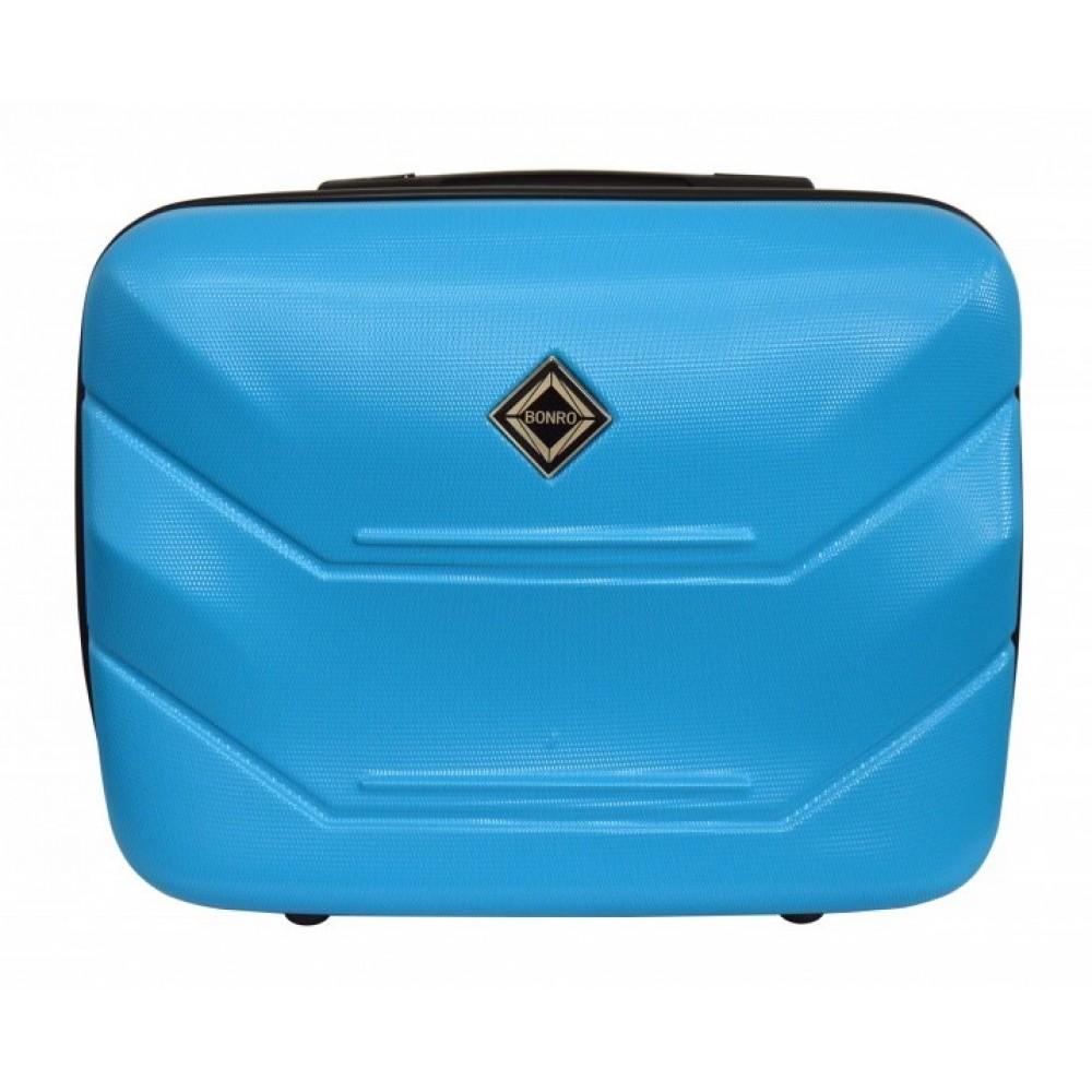 Сумка кейс саквояж Bonro 2019 (великий) блакитний