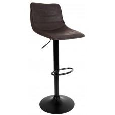 Барный стул со спинкой Bonro B-081 коричневый