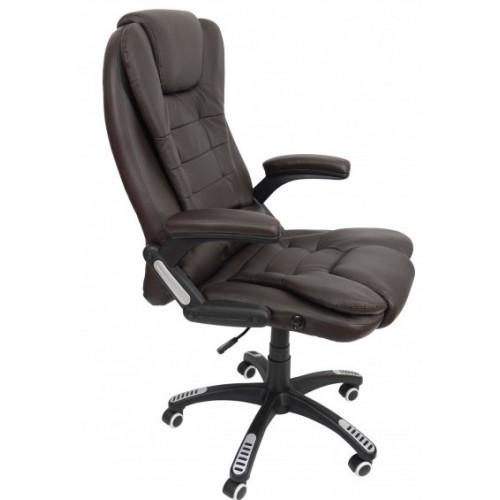 Крісло Bonro O-8025 коричневе