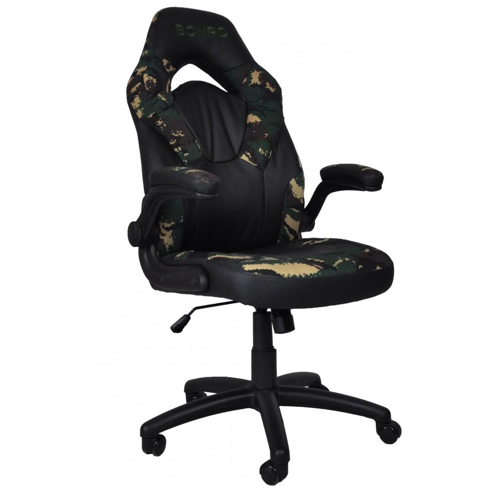 Крісло геймерське Bonro B-office 2 камуфляж