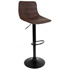 Барный стул со спинкой Bonro B-081 темный шоколад