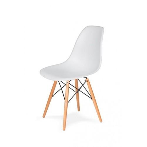 Стіл обідній Bonro В-950-1200 + 4 білих крісла В-173