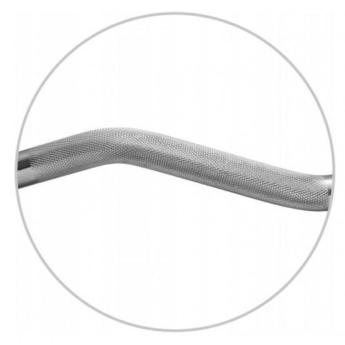 Гриф для штанги ламаний Atleto W-подібний 120см 30мм