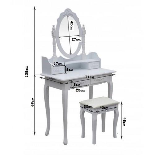 Столик косметичний Bonro B002WL