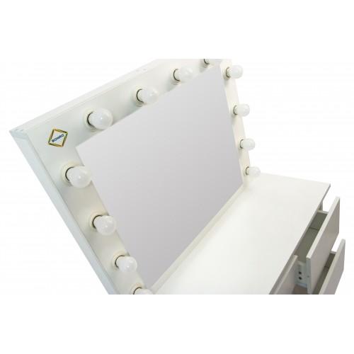 Туалетний столик Bonro- B071 білий